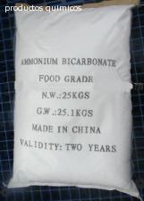 Bicarbonato de amonio